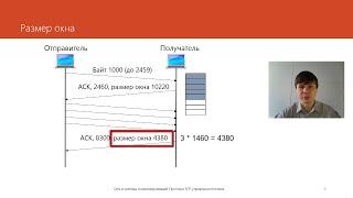 Протокол TCP: управление потоком | Курс