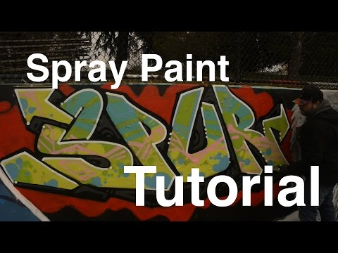 ArtPrimo.com: Graffiti Spray Paint Tutorial SPUR