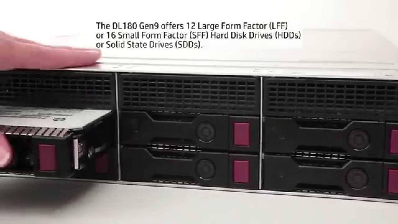 Digital Work - Servidor HP ProLiant DL180 Gen9 - YouTube