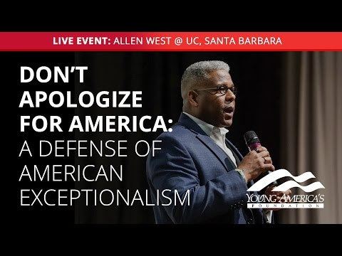 Fred Allen Lecture Series Presents: Allen West LIVE at UC, Santa Barbara