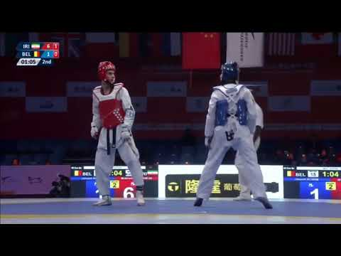Wuxi 2017 World Taekwondo Grand Slam -68kg QF Jaouad ACHAB(B