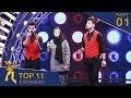 مرحلۀ اعلان نتایج ۱۱ بهترین- فصل پانزدهم ستاره افغان / Top 11 Elimination- Afghan Star S15 - Part 01