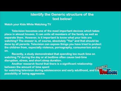 Hortatory Text Youtube