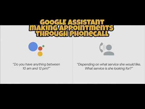 Google Assistant making a haircut appointment | Google IO 2018