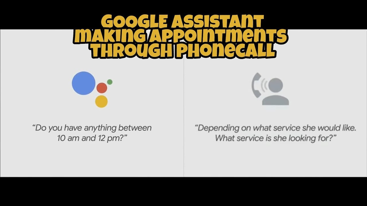 Google Assistant Making A Haircut Appointment Google Io 2018 Youtube