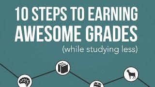 10 Steps to Earning Awesome Grades Launch Video
