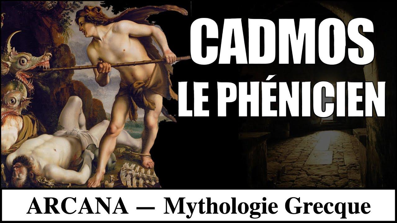 Cadmos et Harmonie, la légende de Thèbes - Mythologie Grecque