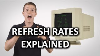 Monitor & TV Refresh Rates as Fast As Possible