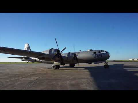Take a flight in a World War II B-29 bomber over New Orleans