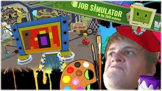 Taiteellinen autokorjaamo! - Job Simulator #3 [PS VR]