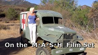 M*A*S*H - Getting to the MASH 4077 film set location in Malibu Creek Park California in Full HD.
