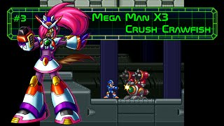 Mega Man X3 - Crush Crawfish Stage