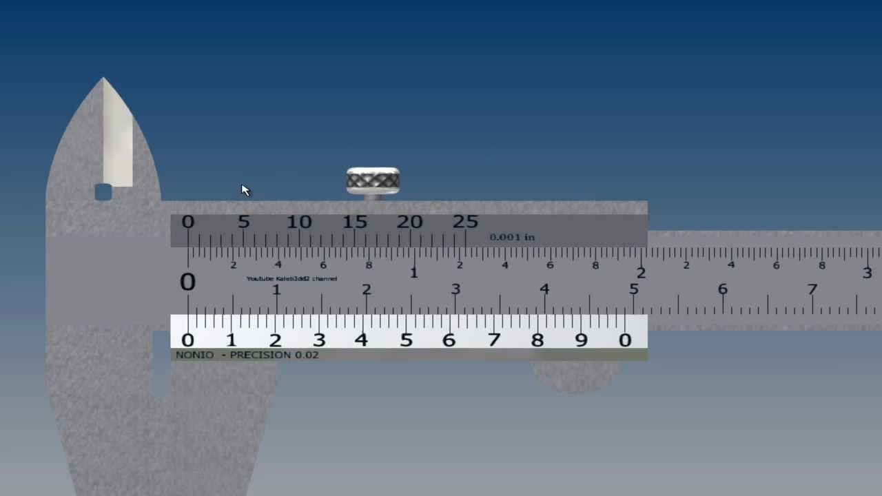Calibrador precision 0.001 milesima de pulgada - YouTube