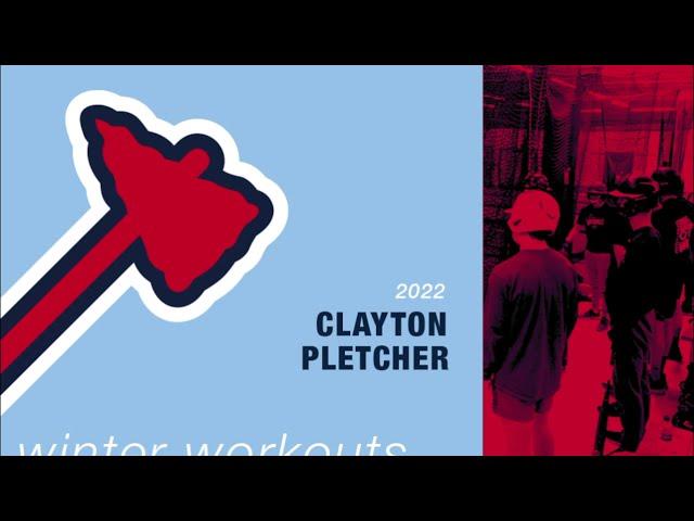 Michigan Braves Winter Workouts - Clayton Pletcher
