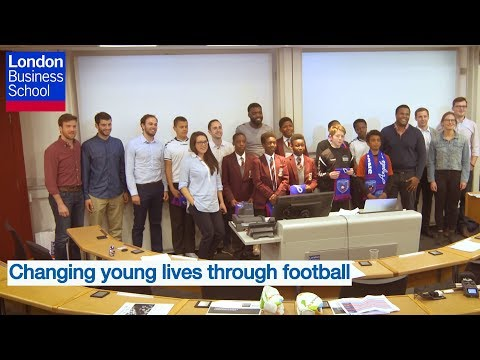 Changing young lives through football | London Business School