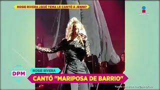 Rosie Rivera recordó a Jenni al cantar 'Mariposa de barrio'   De Primera Mano thumbnail