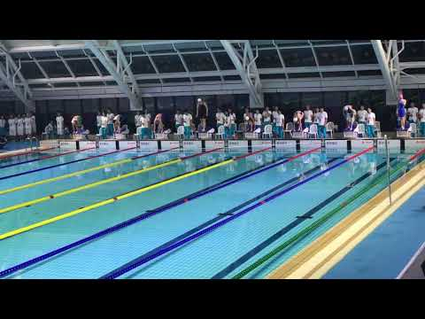 Women's 100m fly final (13th StudentSportsGames Hangzhou)