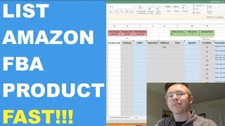 How To Bulk Upload An INVENTORY LOADER Flat File For Your Amazon FBA Products