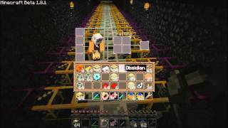 Minecraft how to build the glow-stone aggregator farm/factory | Buildcraft equivalent exchange thumbnail