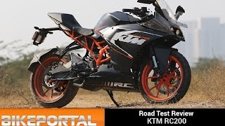 KTM RC200 Test Ride Review - Bikeportal