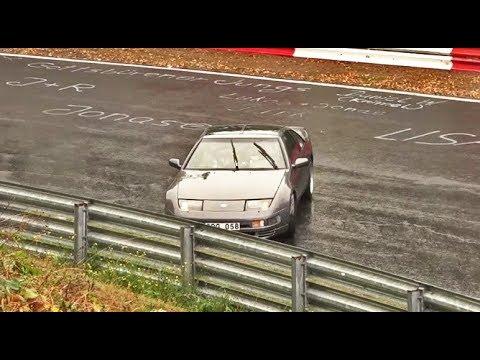 Nordschleife ᴴᴰ 23 09 2018 Slippery & Rainy Highlights, Almost Crashes Touristenfahrten Nürburgring