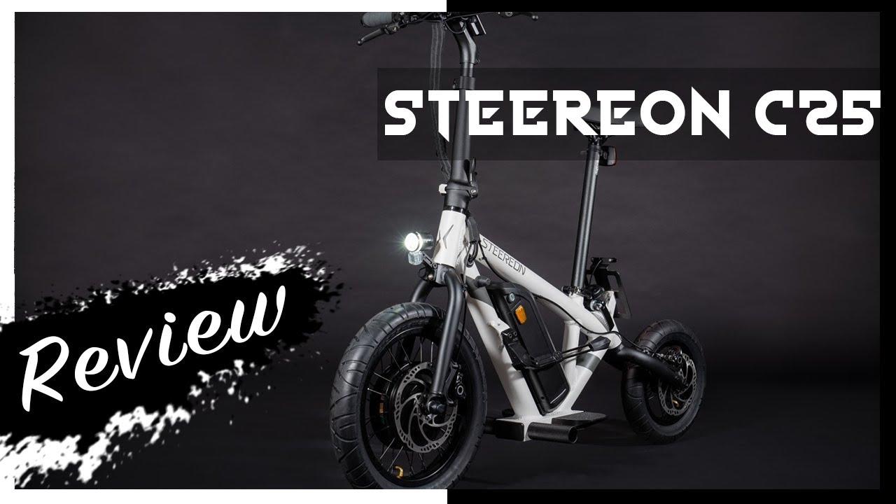 Steereon C20 & C25 - Review (Testbericht) - E-Scooter & E-Mofa der⚡  Luxus-Klasse ohne & mit Sitz ⚡