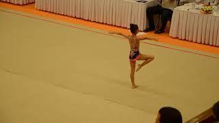 Ильина Ангелина третье место 27 10 2018 Соревнования по гимнастике