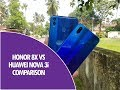Honor 8X vs Huawei Nova 3i - Detailed Comparison