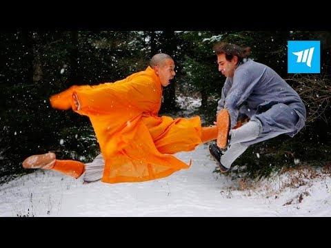 REAL Shaolin Warrior Monk - Shifu Shi Yanjun   Muscle Madness