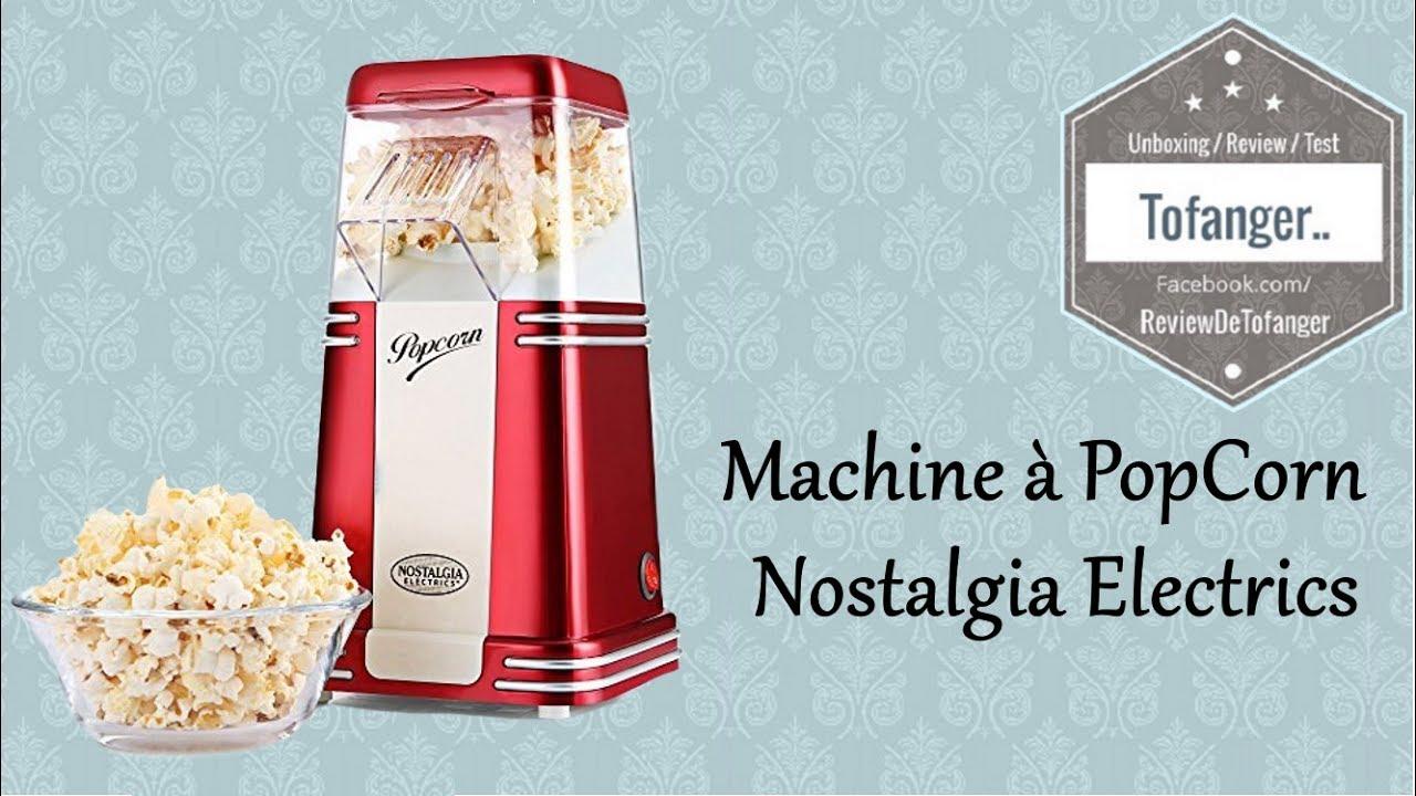 Nostalgia Electrics : Machine à popcorn - YouTube