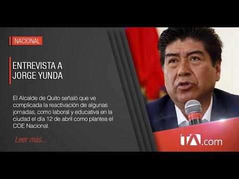 Entrevista al Alcalde de Quito, Jorge Yunda