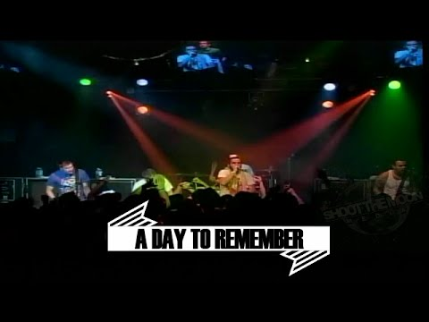 A DAY TO REMEMBER - FULL SET October 2008 Greensboro, NC (Multi Camera)