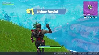 Getting a Kid his first Win (Fortnite)