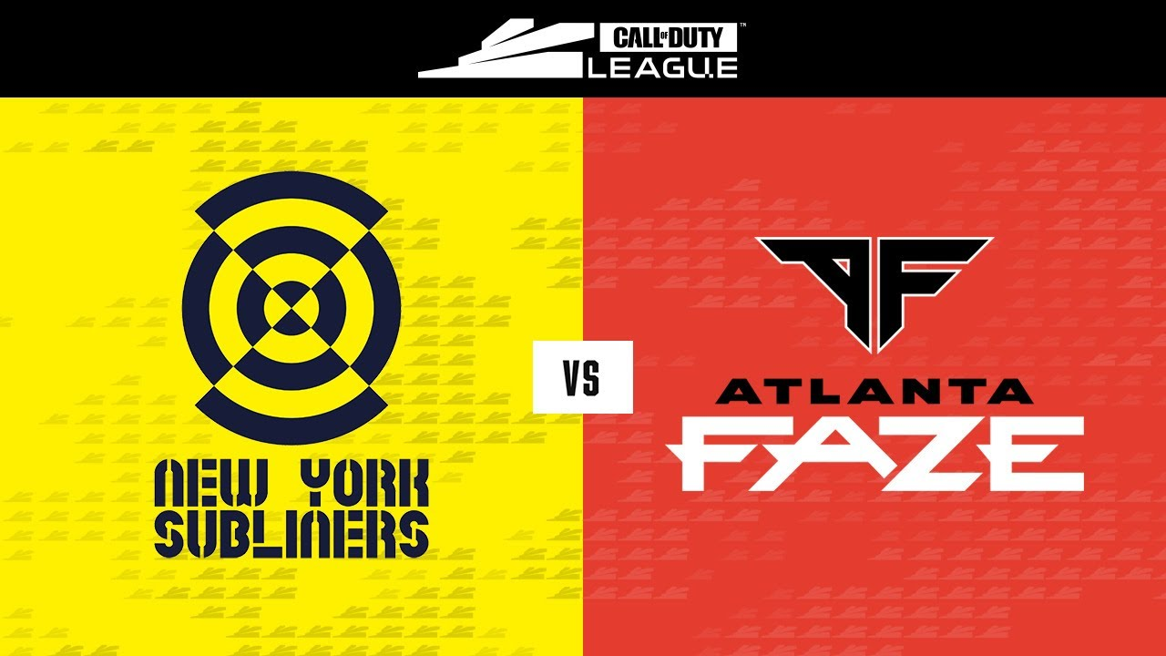 @New York Subliners  vs @Atlanta FaZe | Stage V Week 3 — Seattle Home Series | Day 4