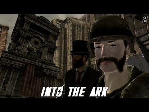 Fallout 3 Mods: Into The Ark  Part 2  Campus Tour!