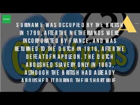 Who Colonized Suriname?