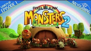 Pixel Junk Monsters 2 Deluxe Edition, Gameplay First Look (PS4, Switch, PC)