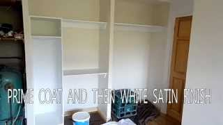Diy/ How To / Fit  Sliding Doors Wall To Wall