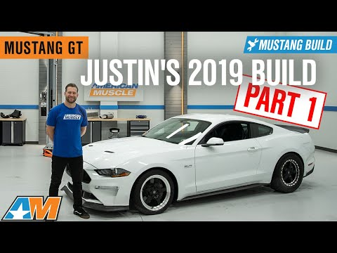 2019 Ford Mustang Build | Exhaust, Lowered, and Wheels & Tires – Justin's 2019 Mustang GT Build 🏎️