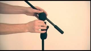 MS632B Hercules Microphone 2 in 1 Boom Stands