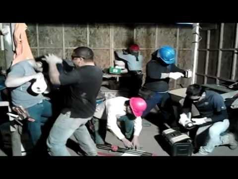 """Harlem Shake Carlos Cid """"Electricos Constructora Carran"""""""