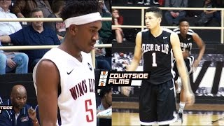 Kentucky Commit Malik Monk vs LSU Commit Skylar Mays