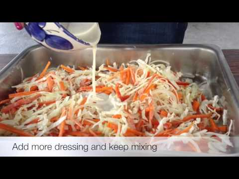 How To Make Delicious Homemade Coleslaw Recipe