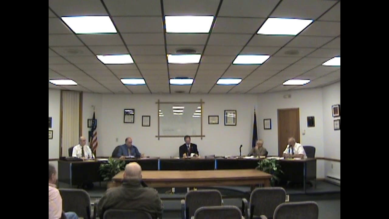 Rouses Point Village Board Meeting  11-20-17