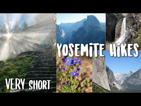 7 EASY Hikes in Yosemite (good for families) ��