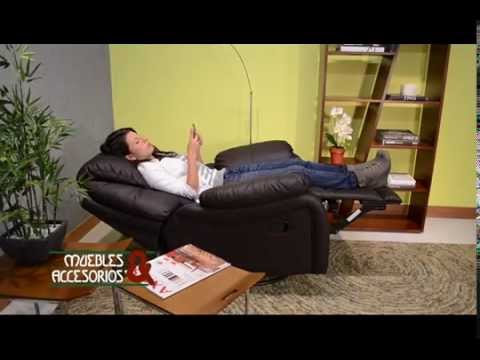 Sillon Reclinomatic Muebles y Accesorios  YouTube