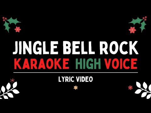 Jingle Bell Rock Karaoke   Glee Higher Key   Gabrielle Johnson Music