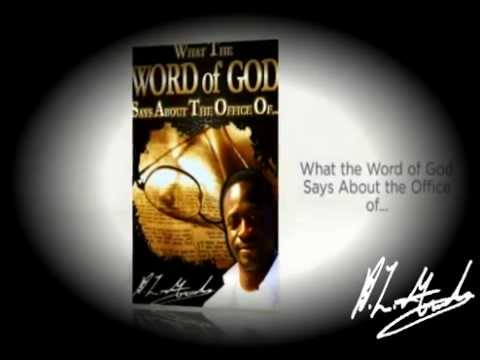 What the Word of God Says About the Office of... (Book Trailer)