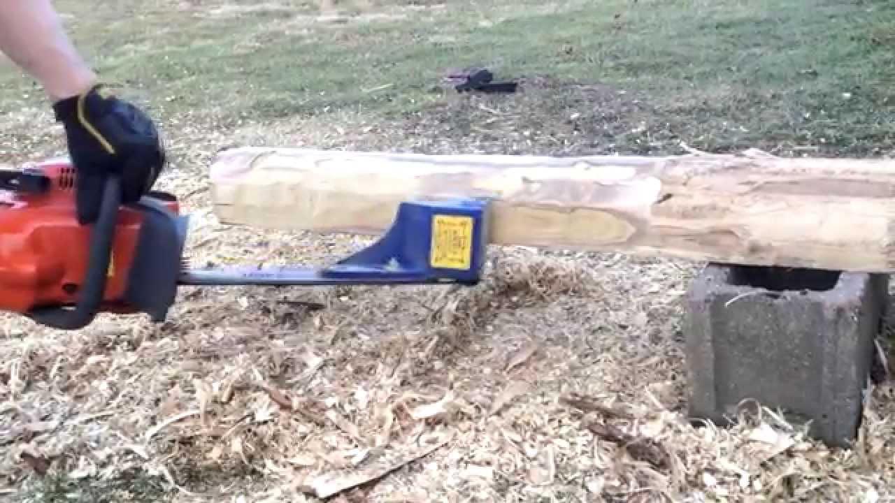 how to build a log peeler