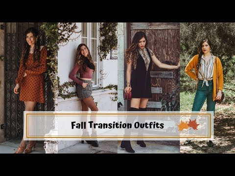 Fall Transition Outfits || Secondhand Styling Series 2